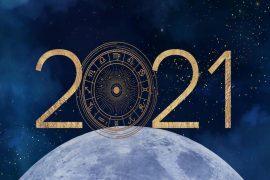 2021 Yılında Gökyüzü